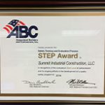 2014 Step Award Gold Level Achievement